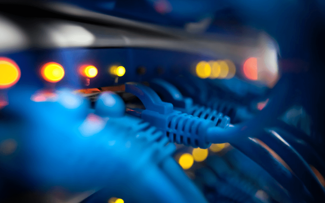 Network Infrastructure Category 5 Cable Router Photo
